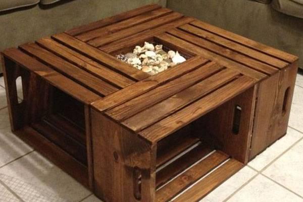 Журнальный столик из дерева своими руками - лучшие идеи и инструкции!