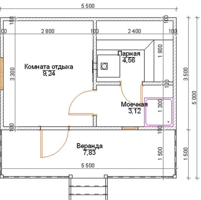 Засыпная баня из опилок своими руками:технология строительства