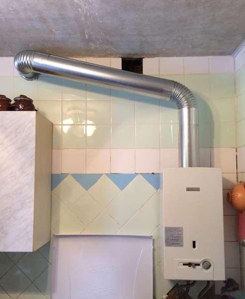 Нюансы установки вытяжных труб для газовой колонки – советы мастера