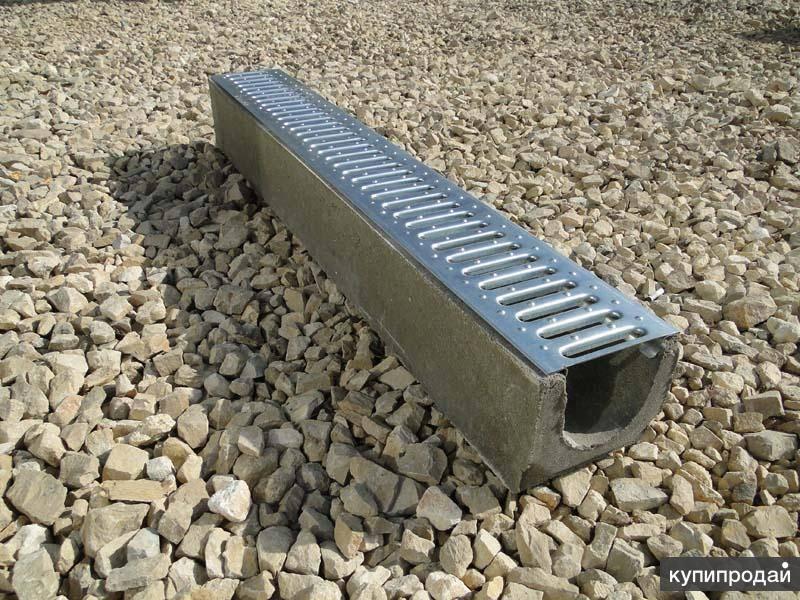 Водоотводный дренажный лоток: виды конструкции, особенности выбора и монтажа