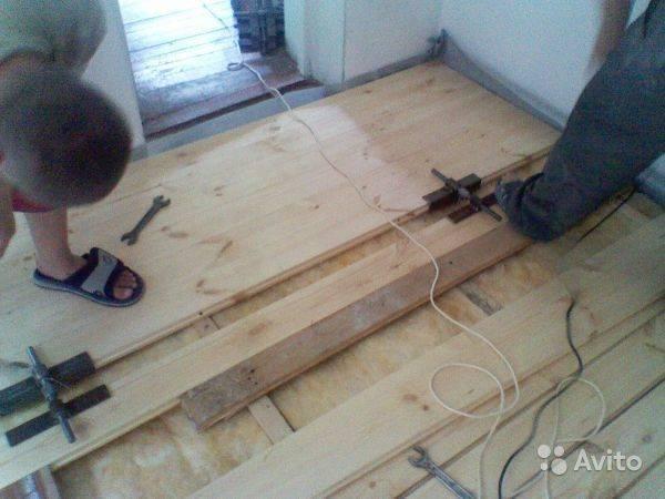 Стяжка деревянного пола: инструменты, приспособления, крепеж