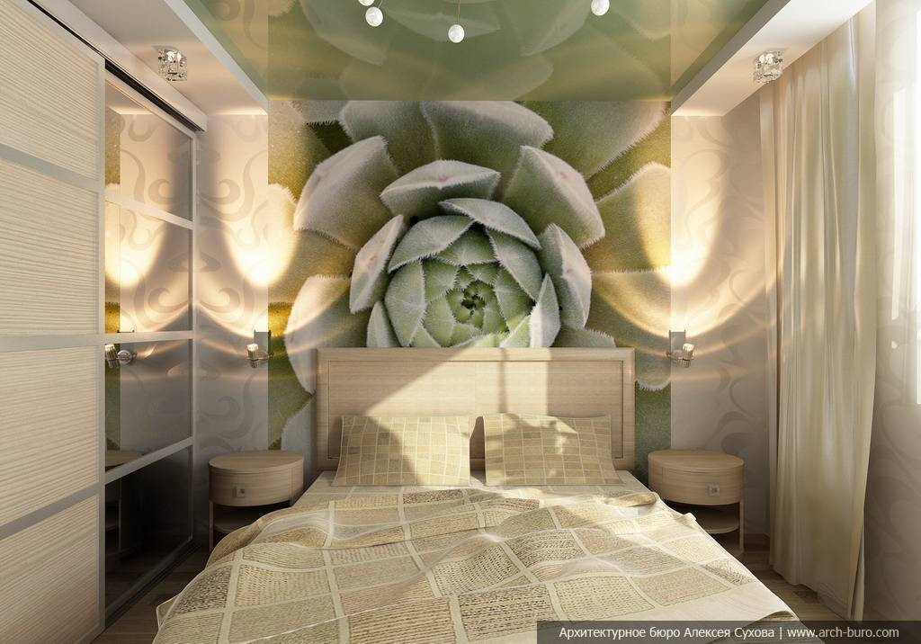 Дизайн маленькой гостиной-спальни