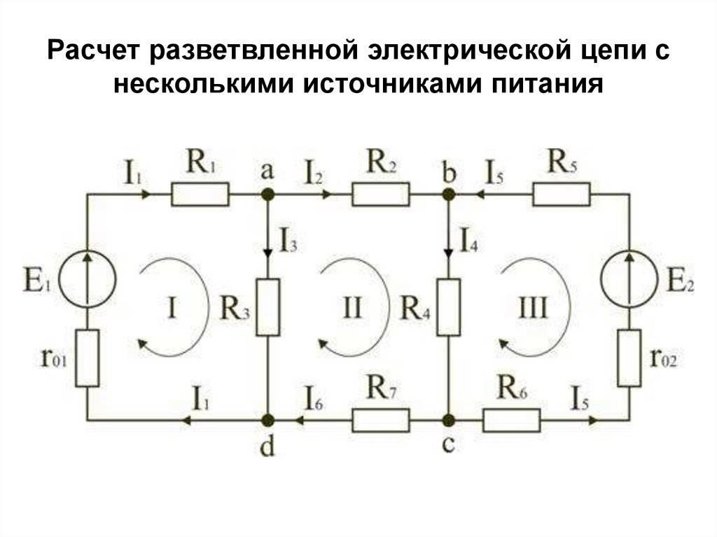 Понятие электрической цепи и ее составные части