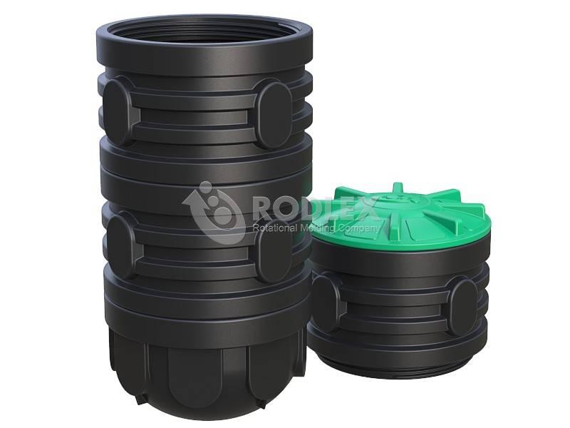 Монтаж пластикового колодца для питьевой воды для скважины или канализации для септика: инструкция +видео - domsdelat.ru