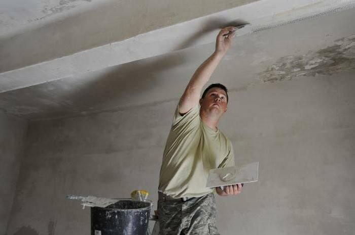 Декоративная штукатурка на потолок: нюансы выполнения