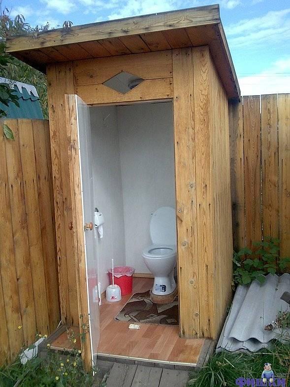 Самостоятельная постройка простого дачного туалета