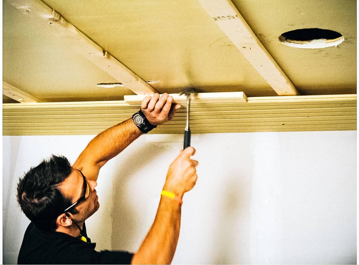 Пластиковая вагонка на потолок: особенности монтажа