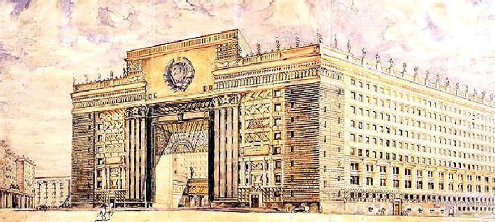 Грандиозные архитектурные проекты прошлого, которые так и не были реализованы | крамола