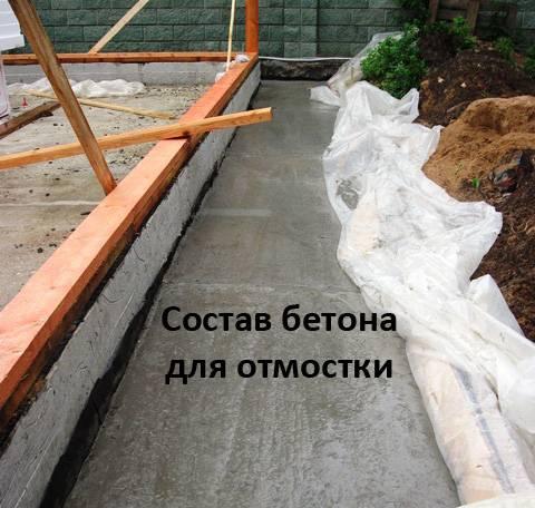 Какую марку бетона использовать для ленточного фундамента частного дома