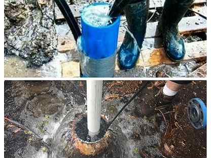 Подробно о том, как промыть скважину своими руками: причины засора, варианты прочистки, цены.