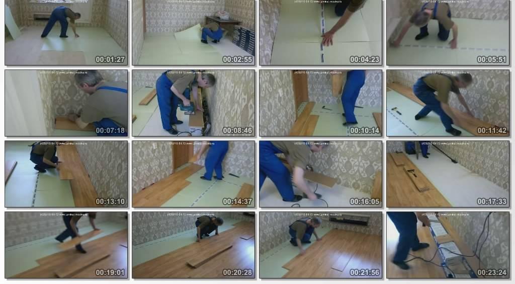 Как крепить ламинат на стену самостоятельно разными способами
