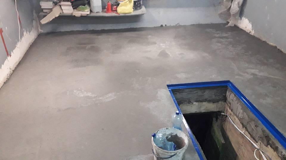 Как сделать бетонный пол в гараже: плюсы и минусы, способы заливки