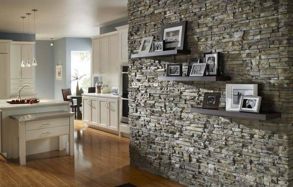 Отделка декоративным камнем в квартире: мода на все века