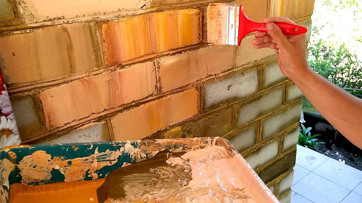Каким лаком можно покрыть печь из красного кирпича в доме или бане