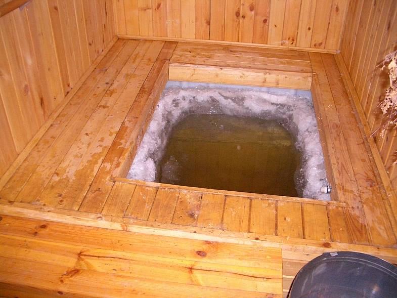 Как сделать стационарный бассейн в бане своими руками