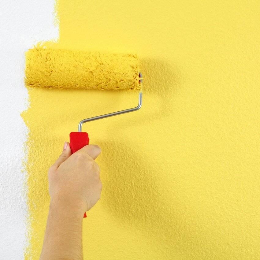Технология окраски стен водоэмульсионной краской