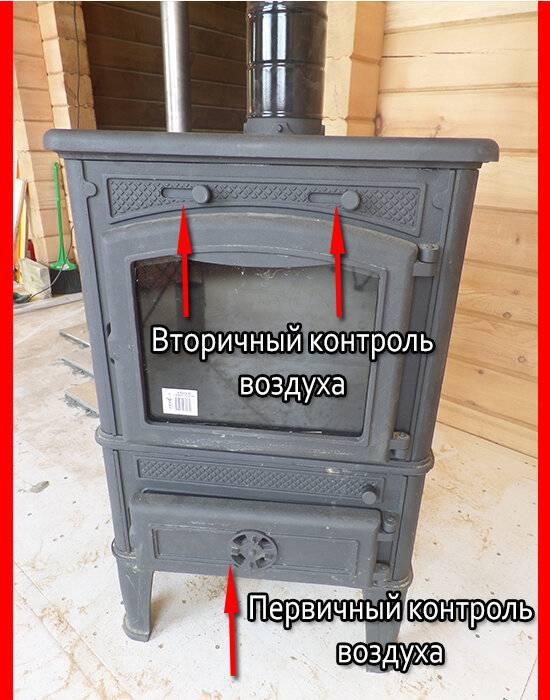 Установка печи в деревянном доме: как правильно установить металлическую печь, железный камин на даче