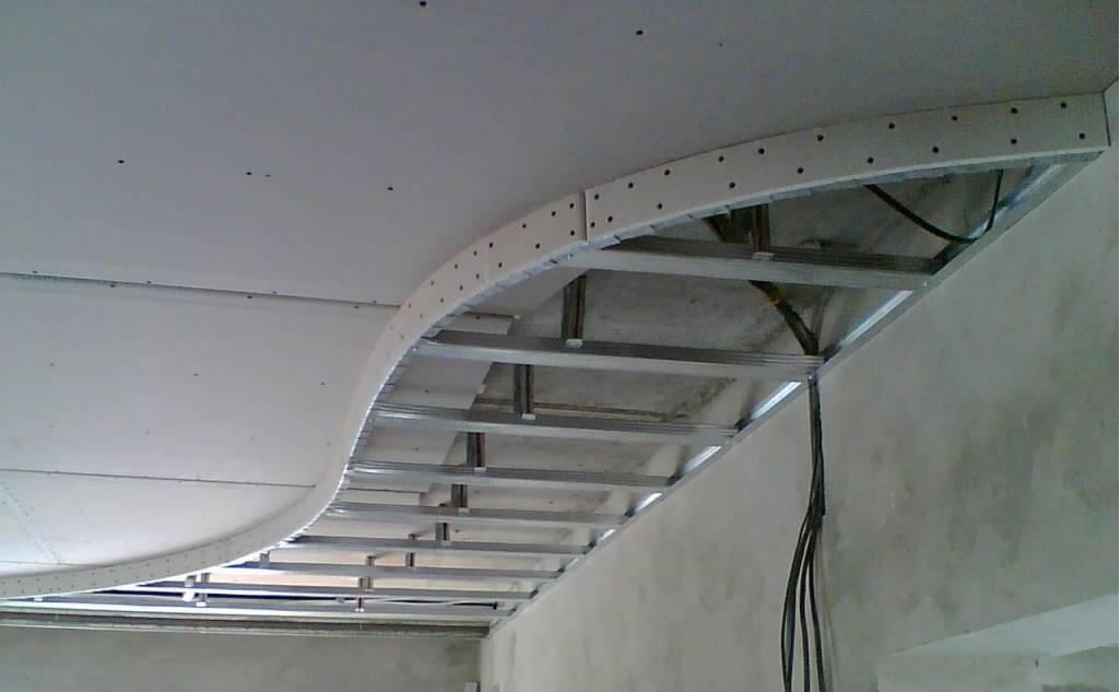 Как сделать потолок из гипсокартона своими руками - подробная статья-инструкция
