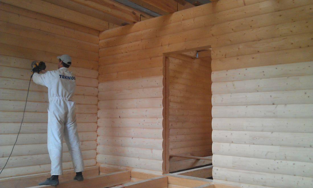 Чем обшить деревянный дом, внутренняя отделка деревянного дома своими руками