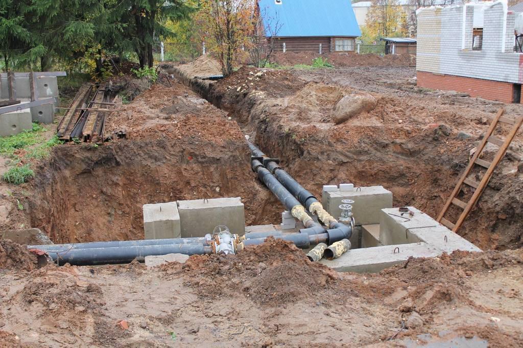 Исполнительная на систему водоснабжения и канализации   исполнительная документация