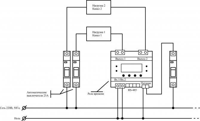 Что такое импульсное реле — схема подключения для управления освещением