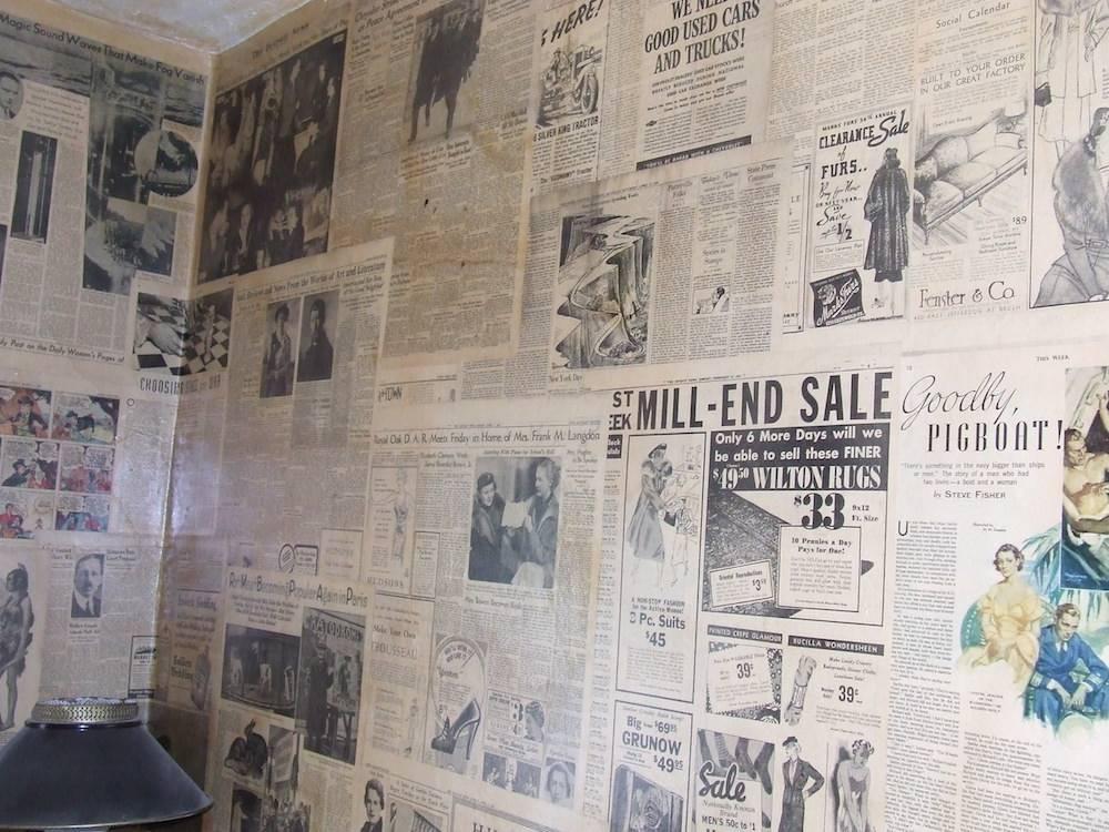 Почему в ссср обои клеили на газеты?   статьи о строительстве и ремонте