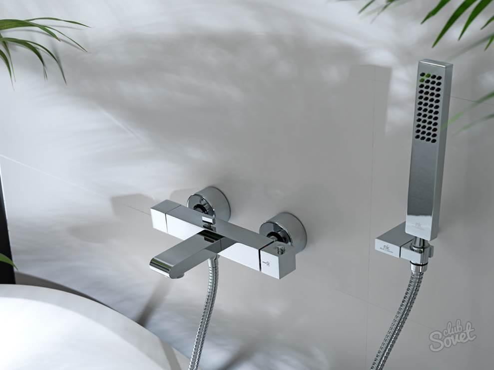 Какой вид смесителя выбрать для ванной с душем
