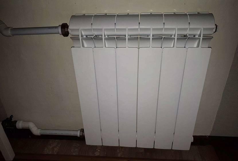 Биметаллические радиаторы отопления: полный, частичный, в чем разница