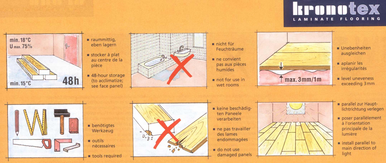 Укладка ламината на деревянный пол: пошаговая инструкция