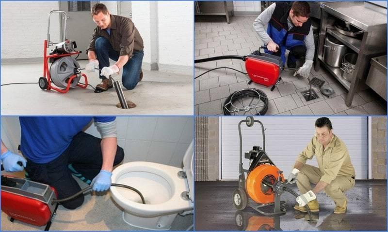 Современные и эффективные способы прочистки труб от засоров