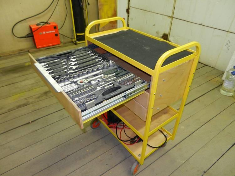 Инструментальная тележка своими руками (17 фото): размеры и чертежи тележек, плюсы и минусы самодельной тележки на колесах