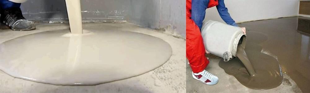 Для каких помещений подходит наливной пол на цементной основе