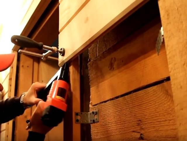 Внутренняя отделка домов из бруса: имитация дерева своими руками