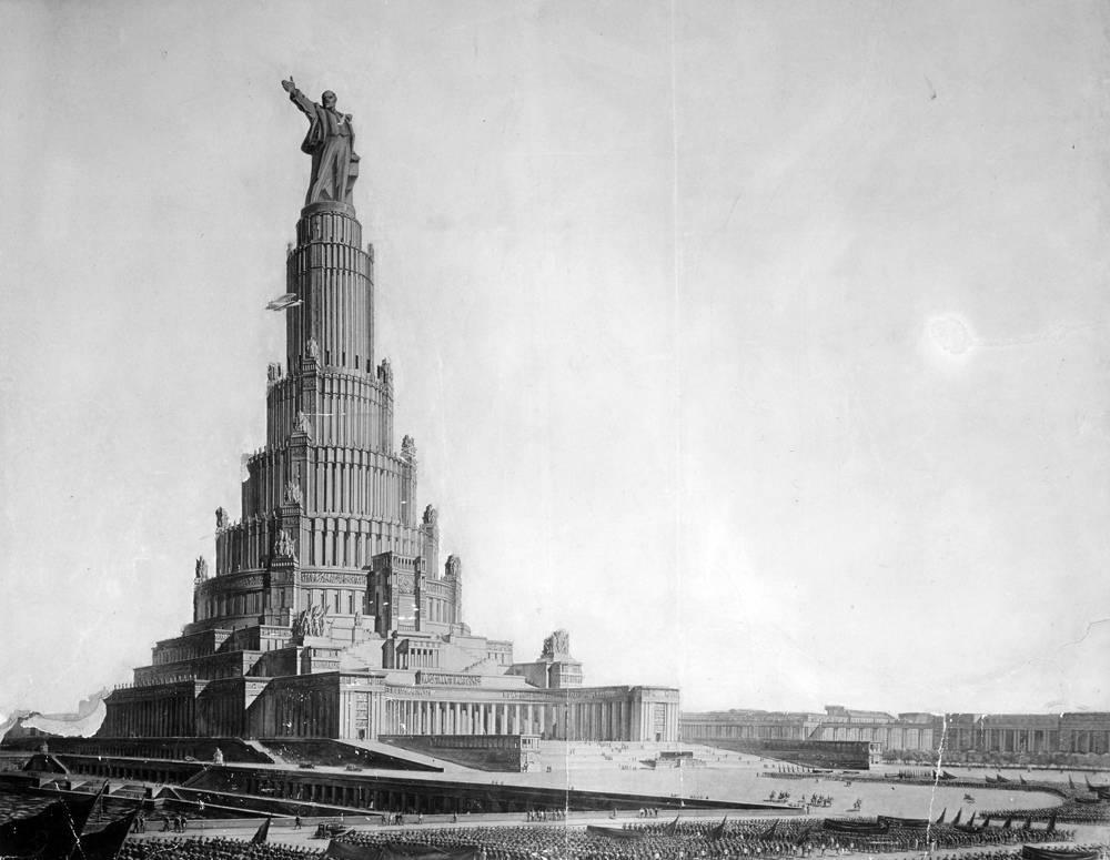 Гигантомания красной эпохи: пять грандиозных архитектурных проектов, которые должны были украсить москву — нож