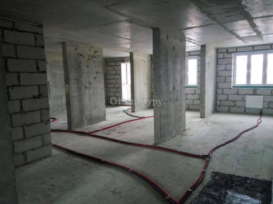 Порядок производства работ при ремонте в квартире с черновой отделкой
