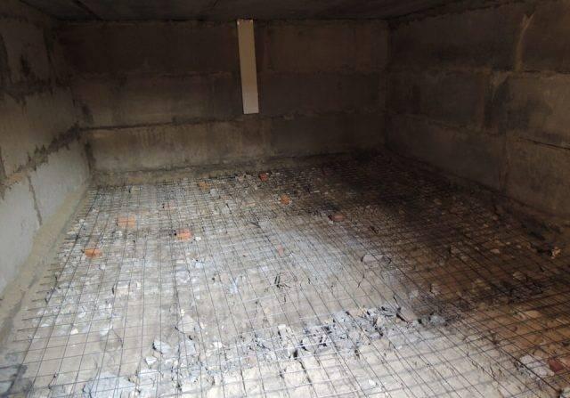 Как выровнять бетонный пол в гараже своими руками