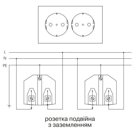 Как подключить двойную розетку - выбор, устройство, схема подключения