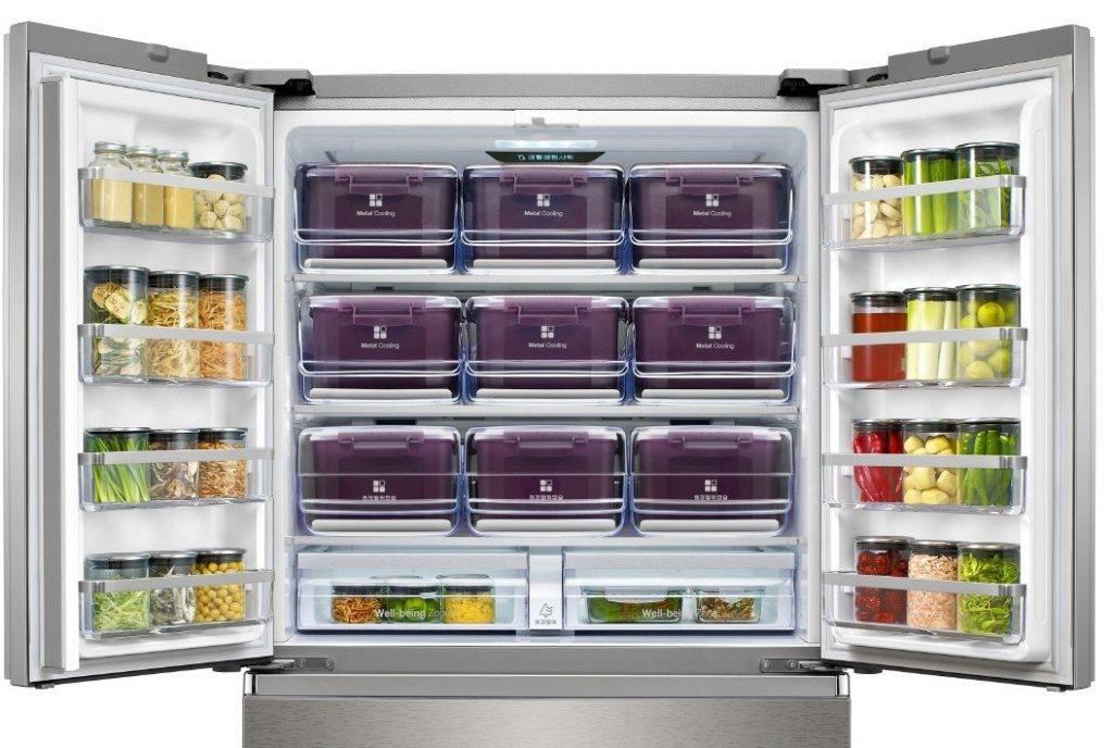 Двухстворчатый холодильник: особенности, рейтинг лучших моделей 2020 года