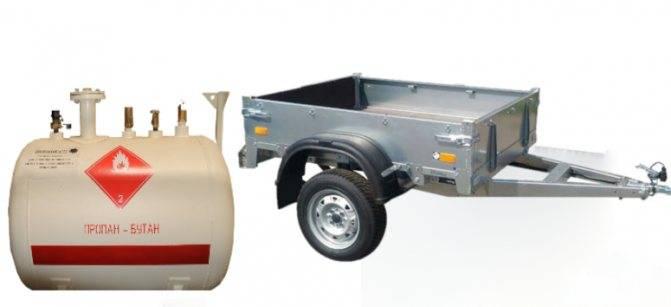 Мобильный газгольдер передвижная емкость на прицепе для хранения газа