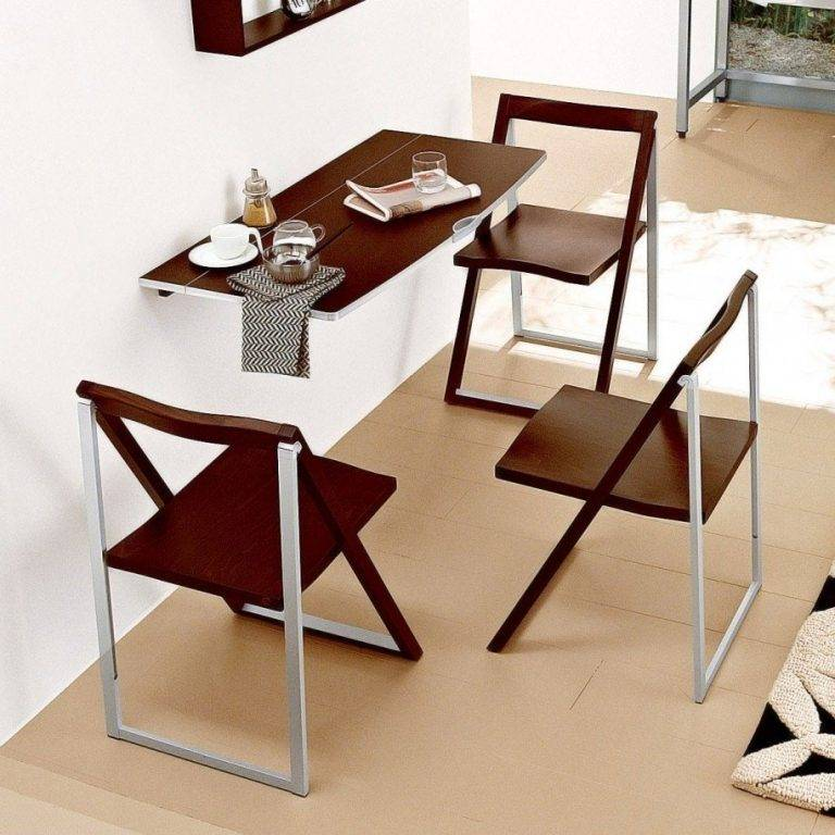 Обеденный стол для маленькой кухни – 50 идей в интерьере