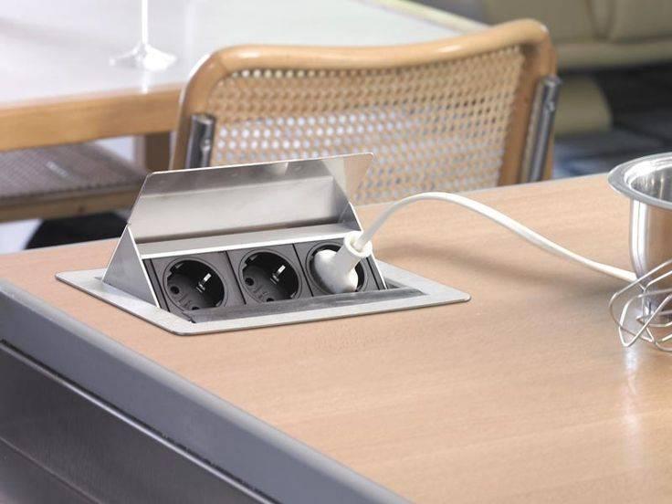 Расположение розеток на кухне: установка, переноска, расчет нагрузок и советы по выбору высоты (135 фото и видео)
