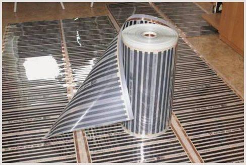 Пленочный инфракрасный теплый пол caleo 150 вт/кв. м (под ламинат)