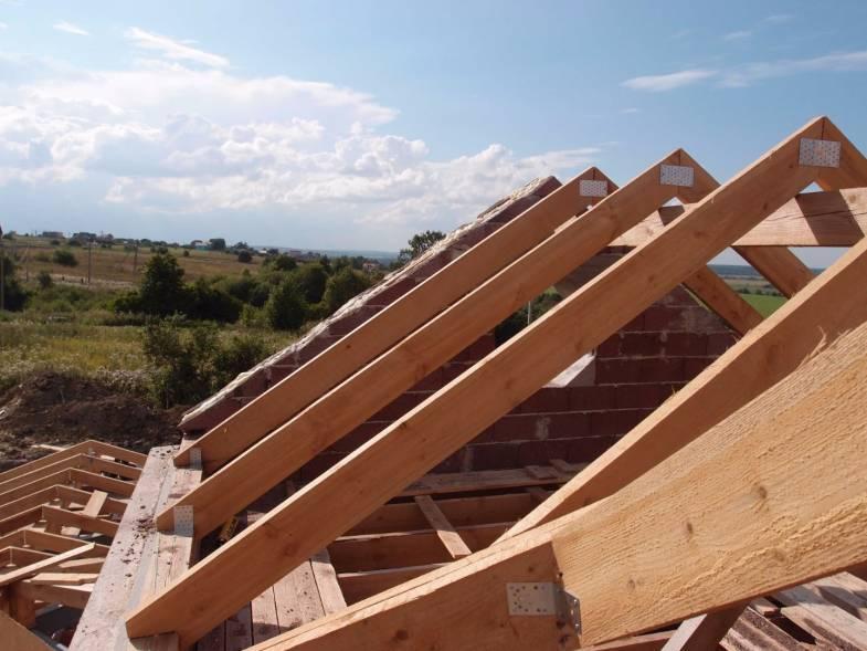 Двускатная крыша дома своими руками - строительство и ремонт
