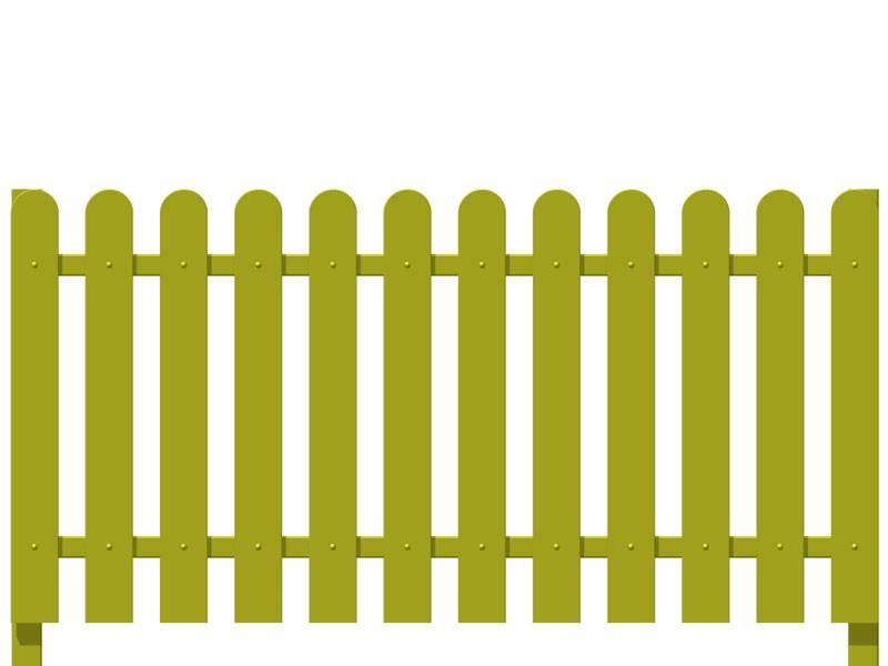 Как сделать деревянный забор на даче своими руками