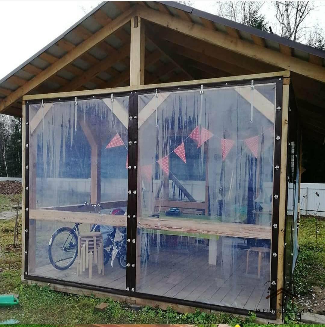 Пошаговая инструкция по изготовлению мягких окон