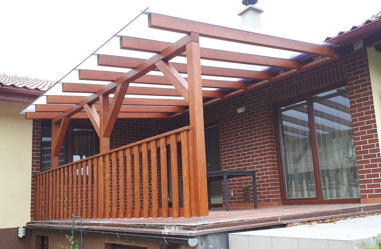 Пристроенная к дому беседка своими руками - фото вариантов с односкатной крышей для дачи