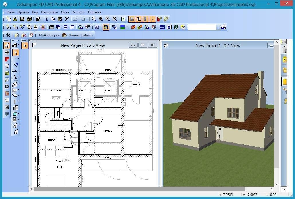 Бесплатные программы для проектирования домов: обзор, сравнение