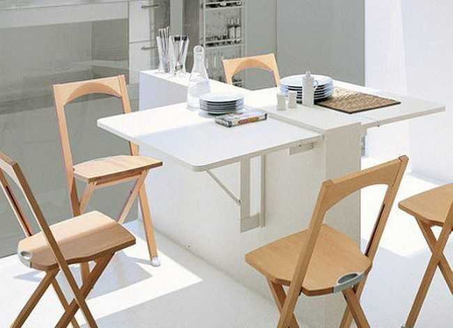 Раскладной кухонный стол: виды моделей / как выбрать?