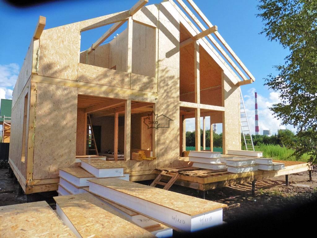 Строительство каркасного дома: плюсы и минусы ⋆ domastroika.com