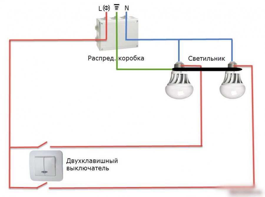 3 ошибки при подключении люстры к выключателю, схемы подключения
